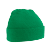 Acrylic Knitted Hat in kelly-green