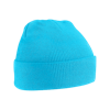 Acrylic Knitted Hat in surf-blue