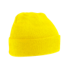 Acrylic Knitted Hat in yellow