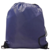 Burton 210d Polyester Drawstring Bag in navy