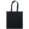 Dunham 5oz Premium Natural Cotton Shopper Bag in black