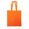 Dunham 5oz Premium Natural Cotton Shopper Bag in orange