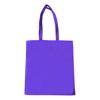 Dunham 5oz Premium Natural Cotton Shopper Bag in purple