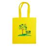 Dunham 5oz Premium Natural Cotton Shopper Bag in yellow
