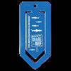 Jumbo Paper Clip in blue