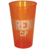 Arena Cup in trans-orange
