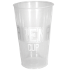 Arena Cup in trans-white