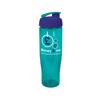 Tempo Sports Bottle in aqua-flip-lid
