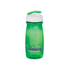 Pulse Sports Bottle in green-flip-lid