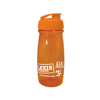 Pulse Sports Bottle in orange-flip-lid