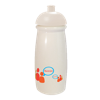 Pulse Sports Bottle in white-domed-lid