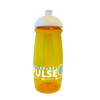 Pulse Sports Bottle in yellow-domed-lid