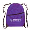 Berlin - Drawstring Backpack in purple