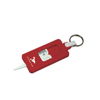 Tyre Tread Gauge Keyring Classic in red