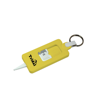 Tyre Tread Gauge Keyring Classic in yellow