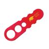 Spaghetti Measure in red