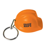 Hard Hat Keyring in orange