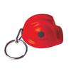 Hard Hat Keyring in red