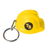 Hard Hat Keyring in yellow