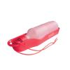 Pet Water Bottle in red