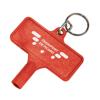 Radiator Key in red