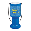 Charity Container Hand Held in blue