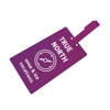 Luggage Tag Shaped Luggage Tag in purple