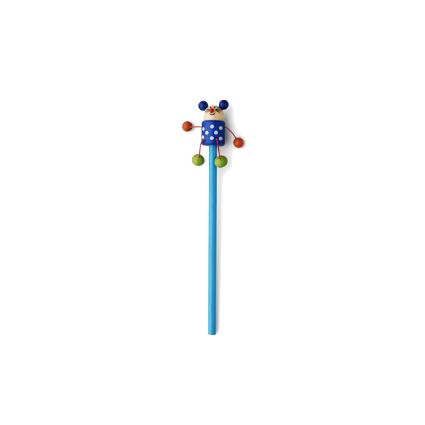 Animal pencil, 50 assd per pack in blue