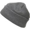 Fleece hat. in grey