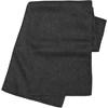 Fleece scarf. in black