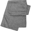 Fleece scarf. in grey