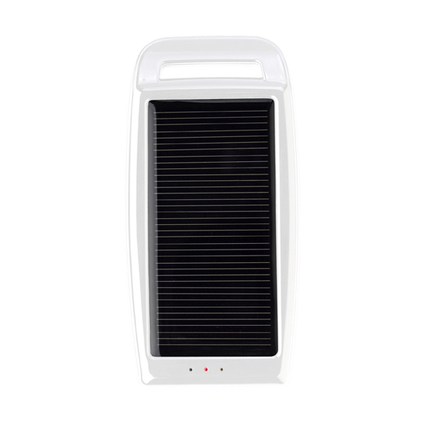 Solar charger. in white