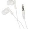 Pair of earphones. in white