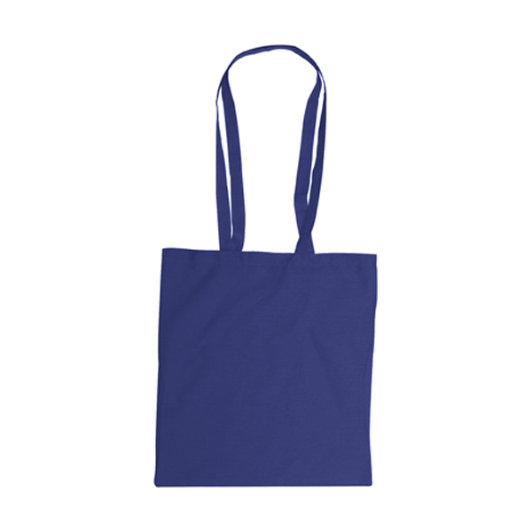 Bag with long handles, Colours in blue
