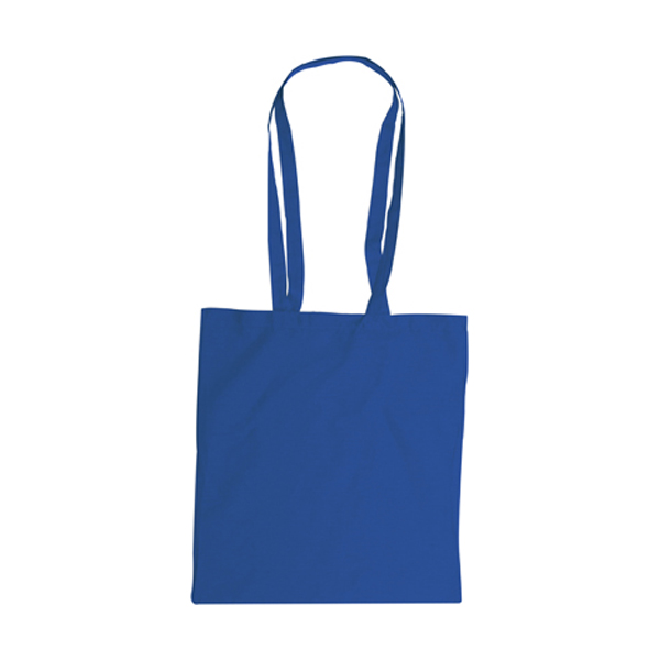 Bag with long handles, Colours in cobalt-blue