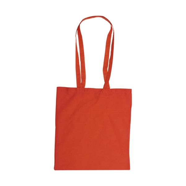 Bag with long handles, Colours in orange