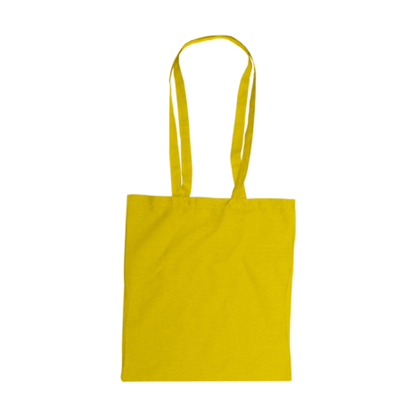 Bag with long handles, Colours in yellow