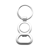 Key holder, €1 trolley disc  in silver