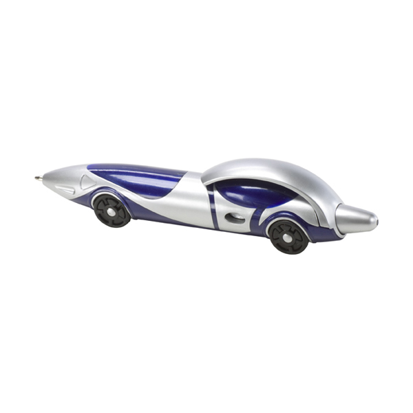 Car ballpen. in blue-and-silver