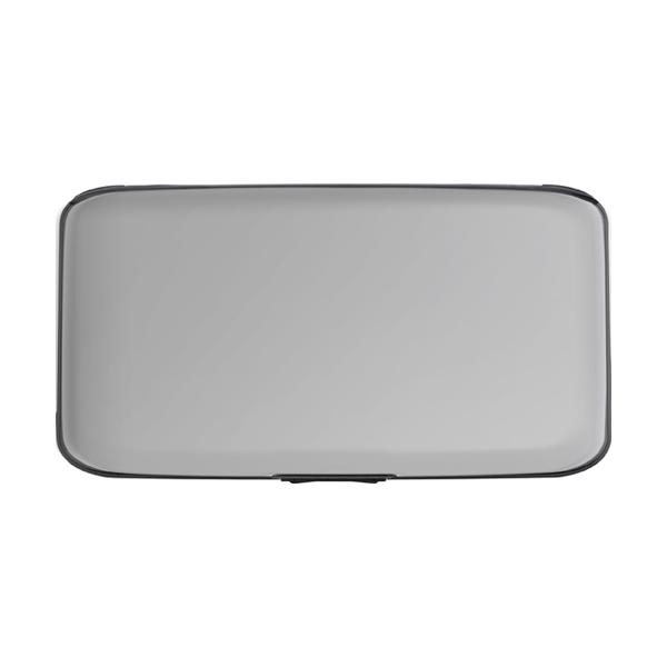 Aluminium purse/credit card holder. in silver