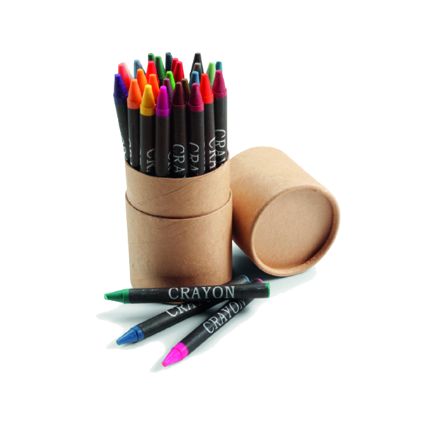 Crayon set, 30pc  in neutral