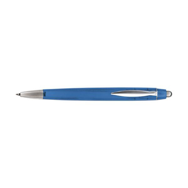 Rimini ballpen with blue ink. in light-blue