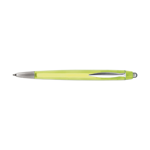 Rimini ballpen with blue ink. in yellow
