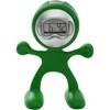 Flexi man alarm clock. in light-green