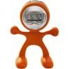 Flexi man alarm clock. in orange