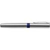 Saltzburg steel ballpen with black ink. in blue
