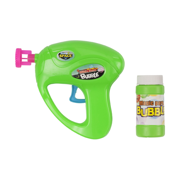 Bubble gun in light-green