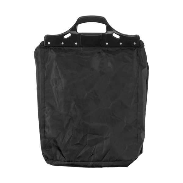 Trolley shopping bag. in black