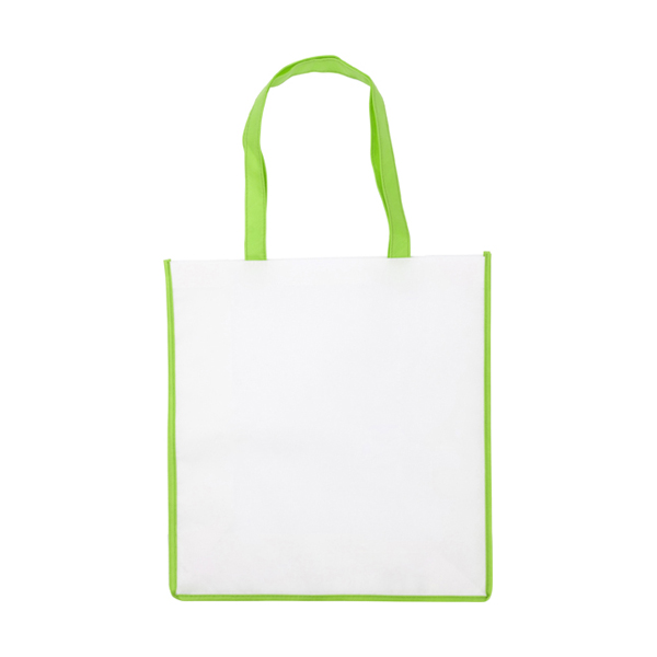 Non-woven bag in lime