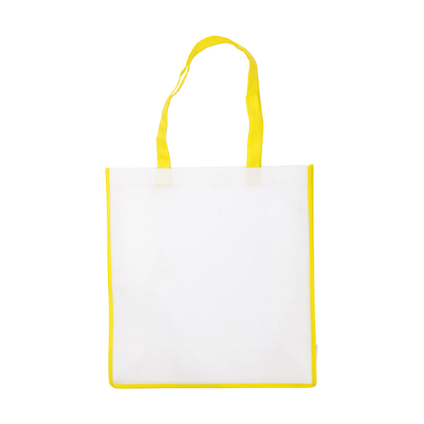 Non-woven bag in yellow